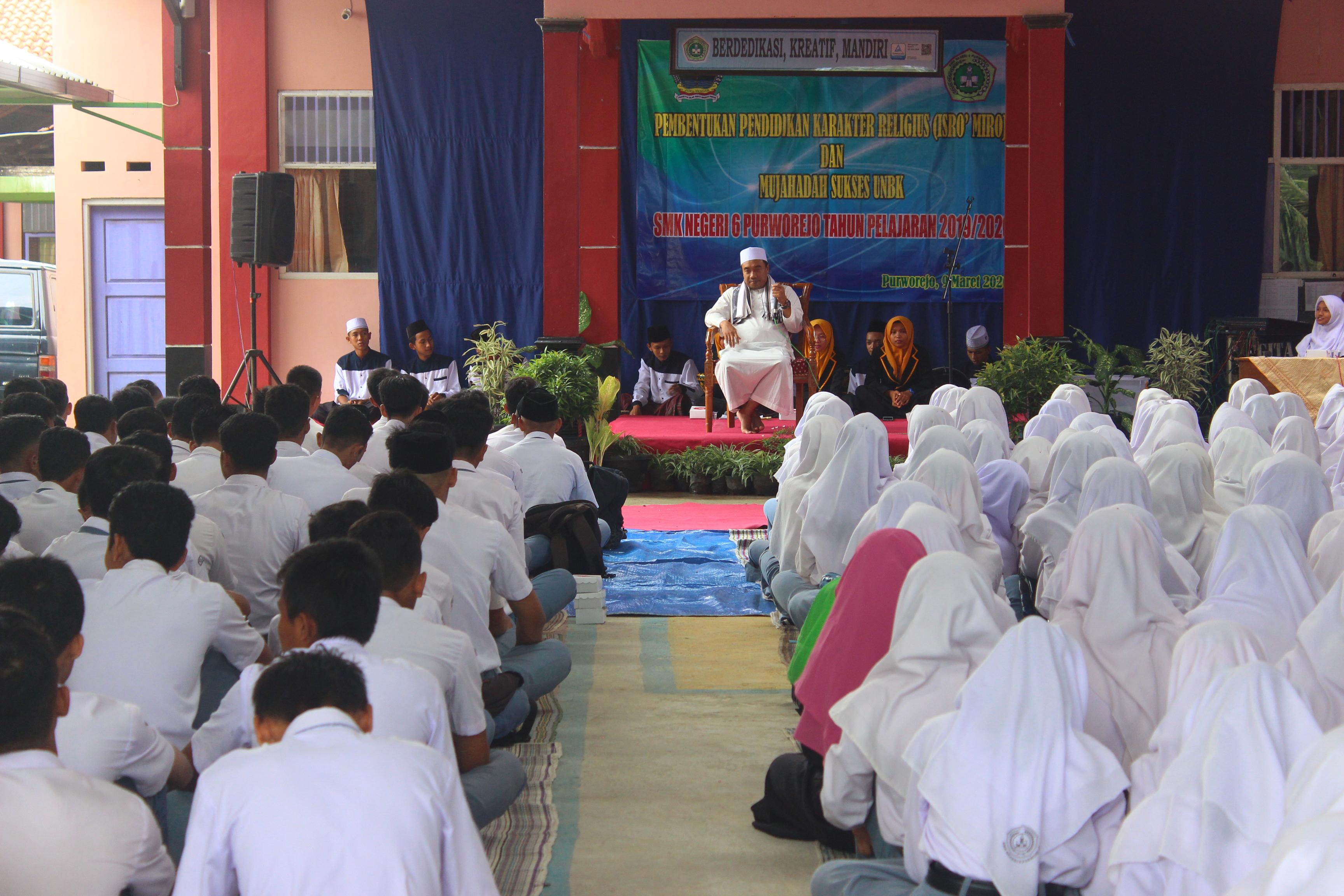 Pembentukan Karakter Religius melalui Peringatan Isro' Miroj